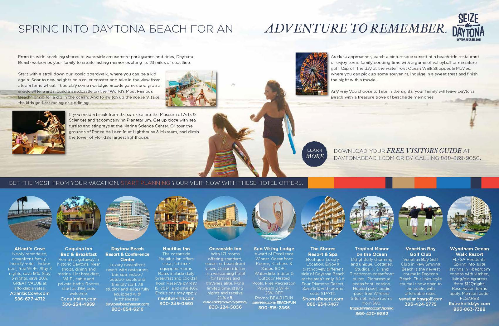 Daytona Area Convention & Visitors Bureau