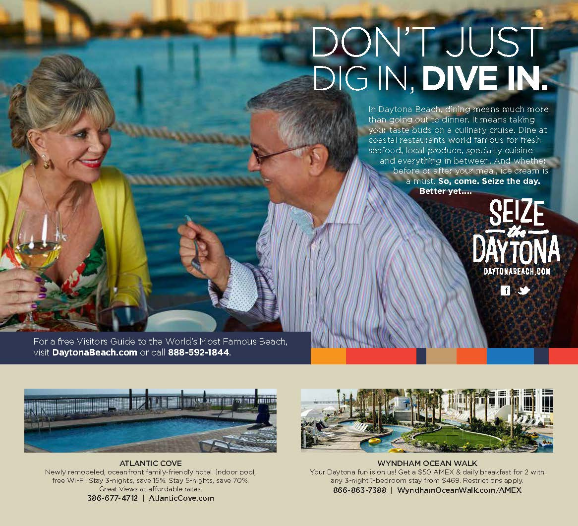Daytona Beach Area Convention & Visitors Bureau — Seize the Daytona Campaign